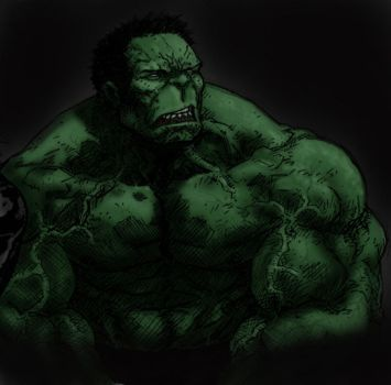 Hulk color play 121912 by anthonyharrisart