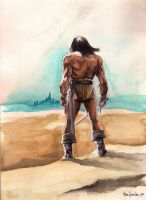 Conan, In Desert by marcgosselin