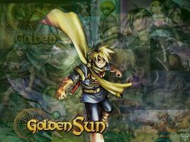 Golden Sun Collage by Suisei-Shia