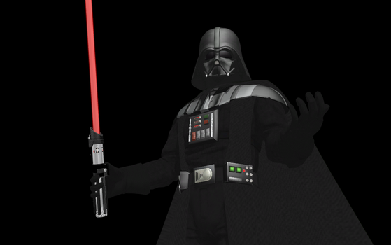 [MMD/Star Wars] Darth Vader by NestieBot