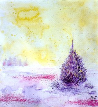 Purple pine by itsMillzie