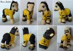 My little Pony Custom Neven Subotic by BerryMouse