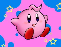 Kid Kirby by Nintendrawer