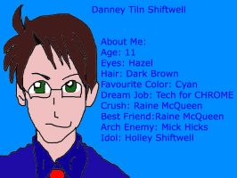 Danney Tiln Shiftwell Humanized by buddygirl1004