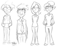 Character Sketches by EnciferART