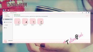 Tema Iconpackager Droi by TutosPixi