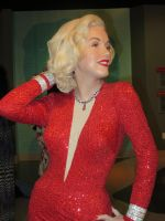 MARILYN MONROE - WAX FIGURE AT MADAME TUSSAD'S by KerensaW