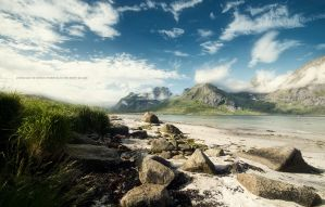 Somewhere in Lofoten by Stridsberg