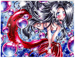 blackrose8009 mermaid commish by tagl