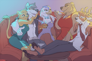 In the Club by Zummeng