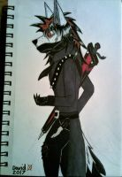 Michael anthro form by SlenderDave666