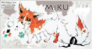 Ref Sheet: MiKU by Snow-Body