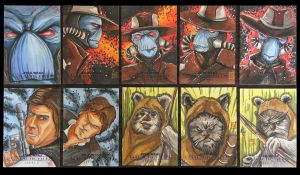 SWGF2 - Criminal scum, Smuggler and angry furballs by ChrispyDee