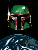 Paint Boba Fett by Shleeen