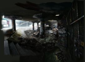 london 2112 matte painting by LexTripper