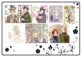 Hetalia Birthday Cards by PlainPaper