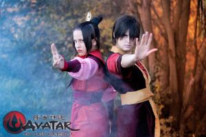 Azula and Zuko by Pugoffka-sama