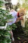 Stay behind me. I'll protect you, Namine by NomesCosplay