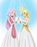 Goddesses Of Love And Peace by DFReyes