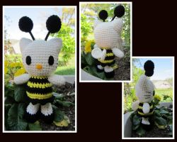 Mini Bumblebee Hello Kitty by aphid777