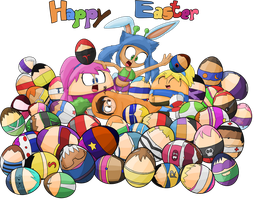 Happy Easter 2015 by JuacoProductionsArts