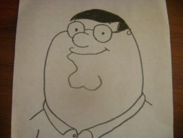 Family Guy: Peter Griffin by RarityLuver214