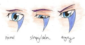 Tsumei Eyes Expressions by pickleduck3