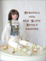 Veronica and Snaily friends by rosannasart
