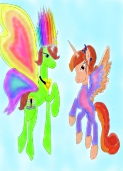 rainbow knight StarryFlame by daylover1313