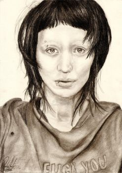 Lisbeth Salander | Rooney Mara by PaolaIver