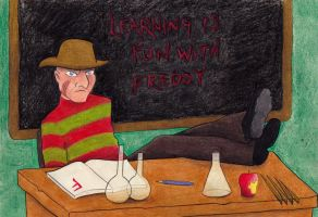 Learning is fun with Freddy by syxx