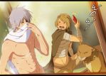 Kakashi and Ryu: Cover up by annria2002