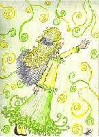 Fairy of Green by Janica23