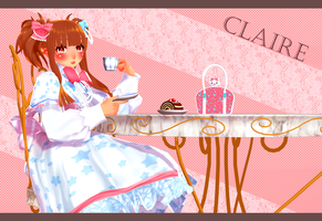 .:Claire:. by Crystallyna