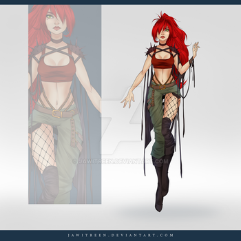 (CLOSED) Adoptable Outfit Auction 250 by JawitReen