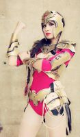Regime Wonder Woman Cosplay from Injustice by Elifissa