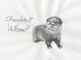 Chocolate!! Where? by Kitt-Otter