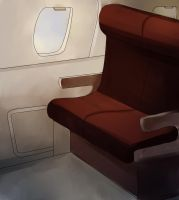 Plane Seat Template by 0ffin