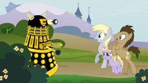 Doctor Whooves: Dalek Invasion of Equestria by Bat-Snake