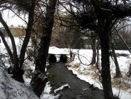Snowy Little River by jaladams