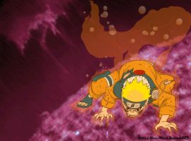 Naruto - Kyuubi's Cloak by Xpand-Your-Mind