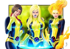 New mutants... by Ruihq