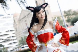 Classic Ahri by SteamyShumei