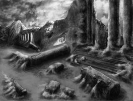 Ancient Ruins by WendyDoodles