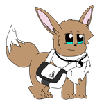 Harold the Eevee remake by RedeyeLatios