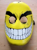 Evil Smiley Leather Mask by Masktastic