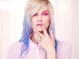 Pastel beauty by mariae