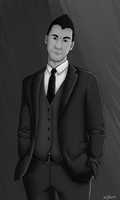 Mark in a suit by leonsmommy