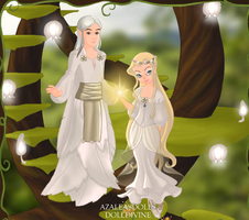 Galadriel and Celeborn by OperaticAnimeNimue