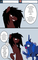 Ask Luna And Alucard - 4 by ArdonSword